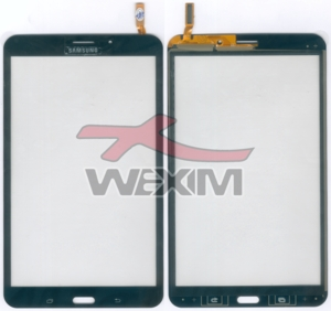 Vitre tactile Samsung Galaxy Tab 4 8.0 3G (noire)